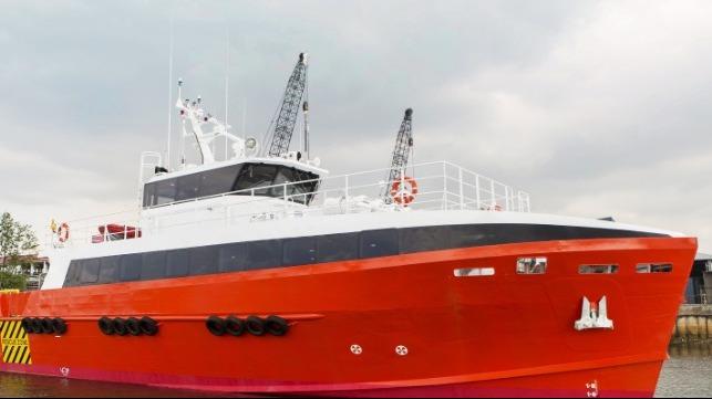 Contrato de firma marina estratégica con Centus Marine por 40m FCB