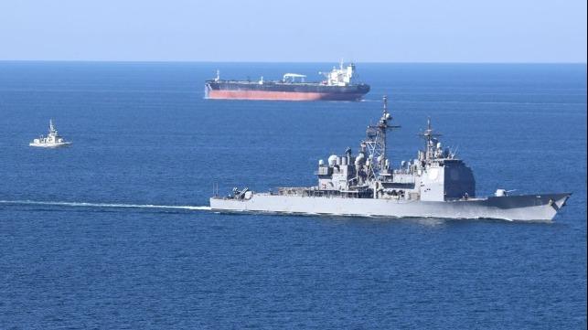 El Grupo de Trabajo de la Coalición realiza un ejercicio conjunto en el Golfo Arábigo