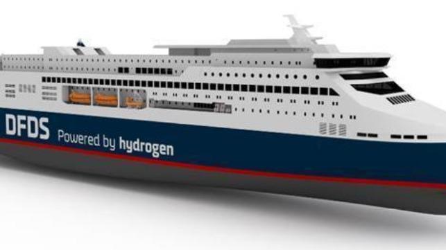 La asociación tiene como objetivo desarrollar el ferry de hidrógeno para Oslo-Copenhague