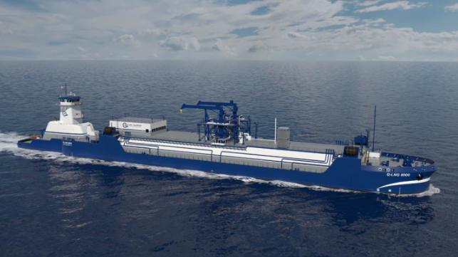 Q-LNG recibe la aprobación de la USCG para los nuevos diseños de ATB de abastecimiento de combustible de GNL