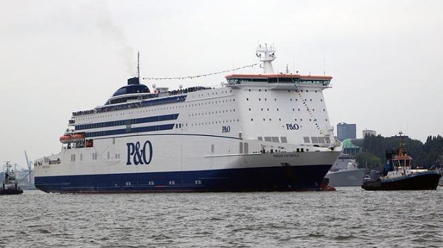 Un incendio deja varado el ferry Ro / Pax durante 24 horas en el estuario de Humber