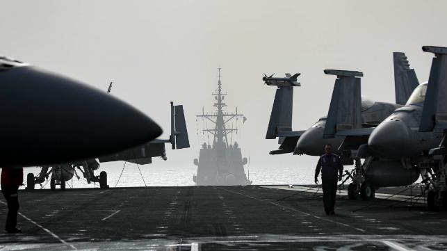 La Armada española abandona el grupo de ataque estadounidense a medida que aumentan las tensiones con Irán