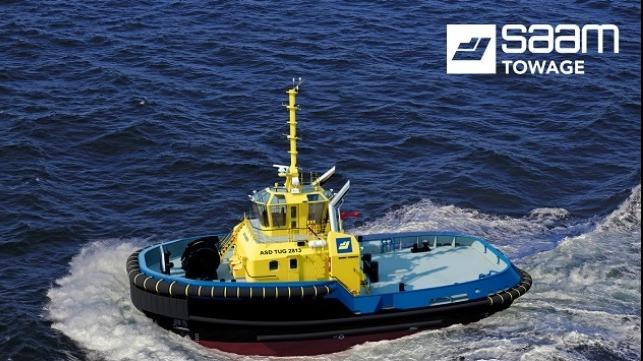 SAAM Towage contrata a Damen para la entrega de un remolcador