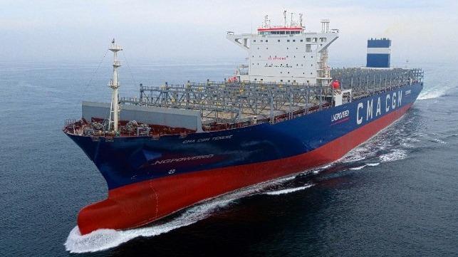 Hyundai se acerca a la entrega de su primer buque portacontenedores propulsado por GNL