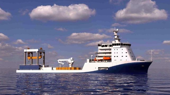 China construirá el buque de investigación eléctrico más grande