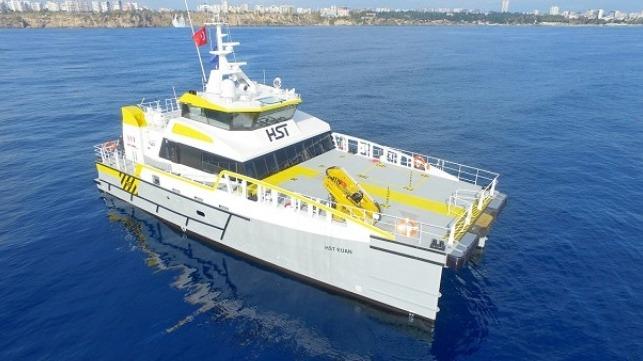 Damen entrega el cuarto proveedor de tripulación rápida 2710 a HST