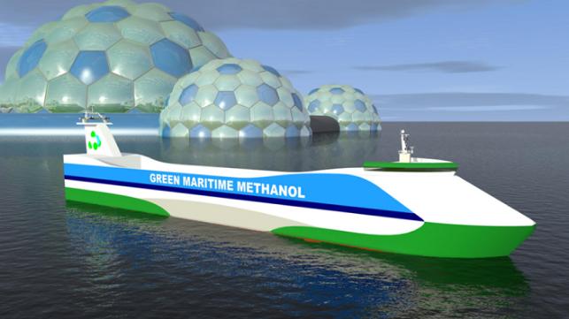 Proyecto de metanol marítimo verde preselecciona nueve barcos