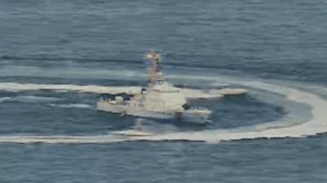 Barcos de ataque iraníes acosan a las fuerzas estadounidenses en el Golfo Pérsico