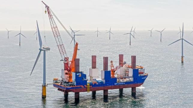 Van Oord compra un proyecto de parque eólico marino en Estonia