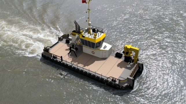 Damen firma con HST Marine para el primer Multi Cat 2309