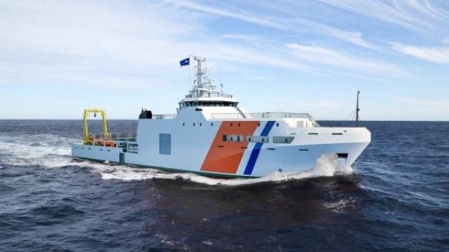 Damen firma contrato con Cotecmar para buque de investigación