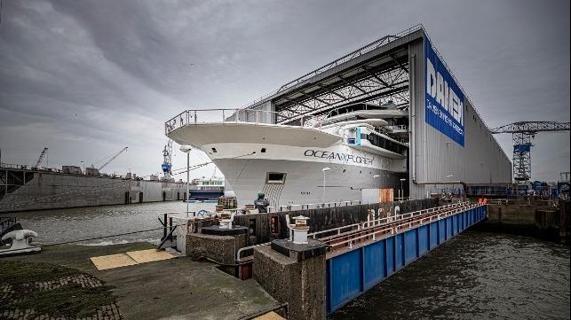 Damen Shipyards Group completa la reconstrucción de OceanXplorer