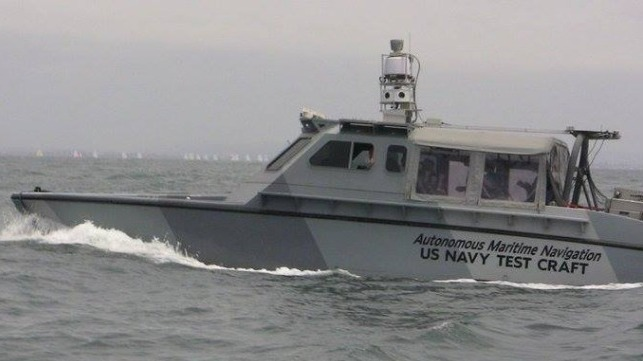 Huntington Ingalls compra la división de autonomía de embarcaciones del SIS