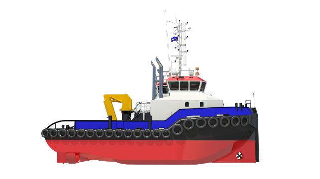 Carteles de Damen con puertos de Jersey para Shoalbuster 2711