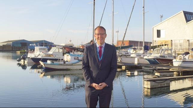 Tom Willis se une a Shoreham Port como nuevo director ejecutivo
