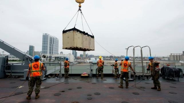 El Pentágono ordena una prueba a gran escala de la flota de transporte marítimo de EE. UU.