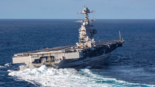 Navy lanza la iniciativa Carrier «Make Ford Ready»