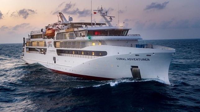 Coral Expeditions ordena un crucero de segunda expedición