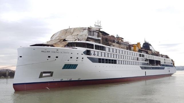 Vard flota en el primer crucero de expedición de Viking