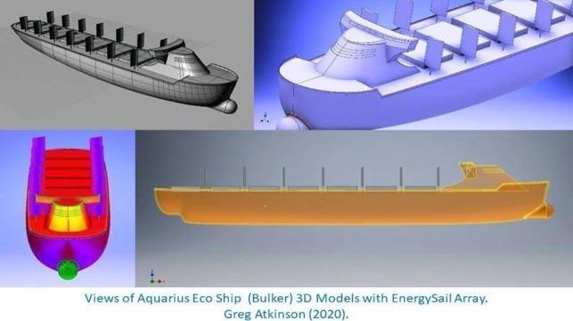 Barco ecológico Aquarius: camino hacia el envío de cero emisiones