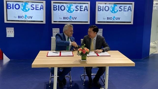 BIO-UV y Hai Cheung Trading se asocian con BWTS