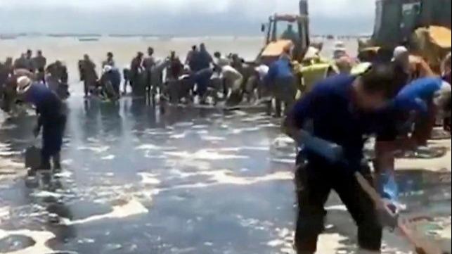 Delta Tankers dice «No hay pruebas» sobre la conexión del derrame en Brasil