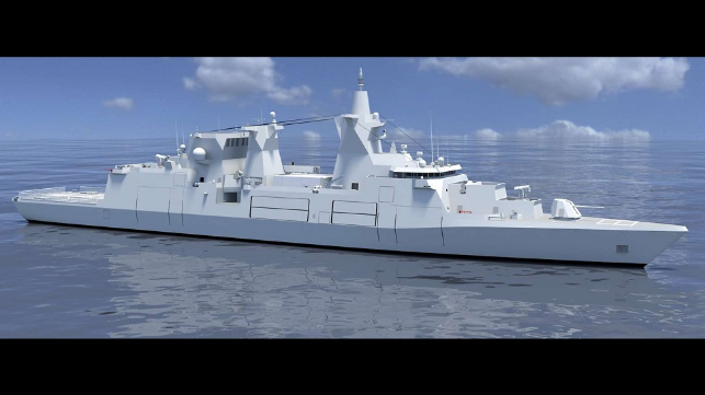 Damen gana un contrato gigante para cuatro fragatas de la Armada alemana