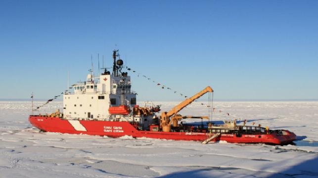 Se anuncian seis nuevos rompehielos para la Guardia Costera canadiense