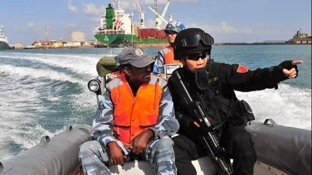 El EPL de China utiliza tácticas «irresponsables» en Djibouti