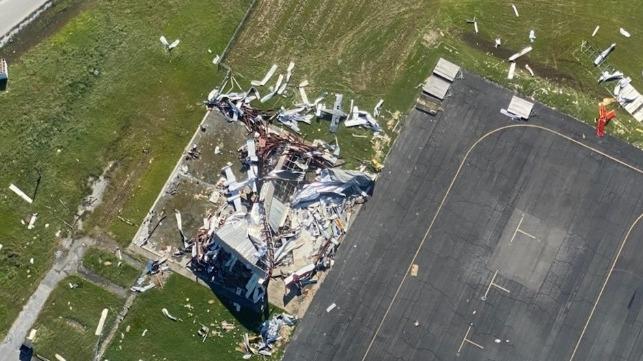 Louisiana comienza el proceso de recuperación después del huracán Delta