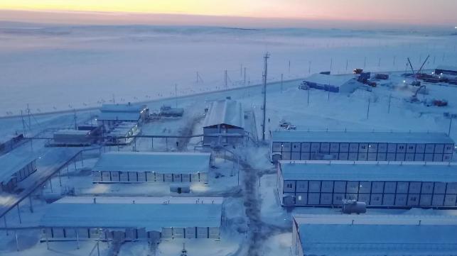 Mammoet gana un contrato de carga pesada gigante para Arctic LNG 2