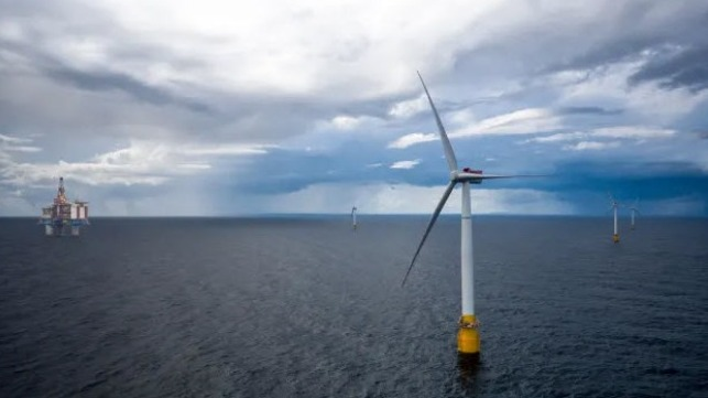 Financiamiento prometido para proyecto eólico flotante en campo petrolífero