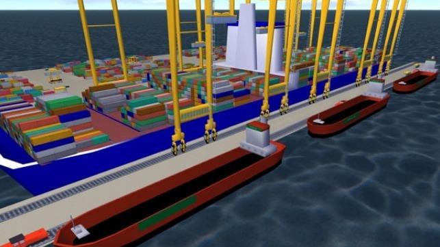 Desarrollo de un nuevo sistema de transbordo para el comercio de contenedores