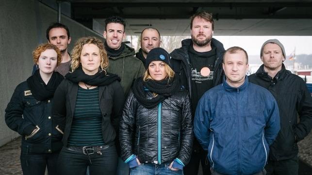 Iuventa Crew recibe el premio de derechos humanos en Suiza