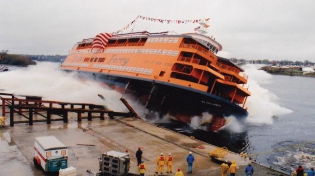 Se acerca la entrega del primer ferry clase Ollis para Staten Island