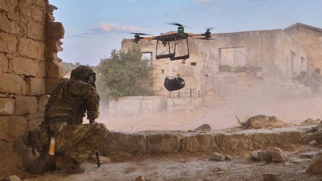 Reino Unido busca drones autónomos para cargas pesadas para servicio naval