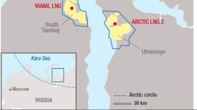 Las empresas petroleras chinas toman una participación del 20 por ciento en Arctic LNG 2