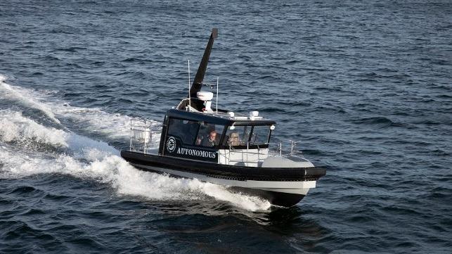 Tuco entrega un barco de trabajo para la investigación autónoma de embarcaciones