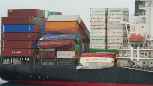 Barco Yang Ming arrestado en Australia por deuda de contaminación