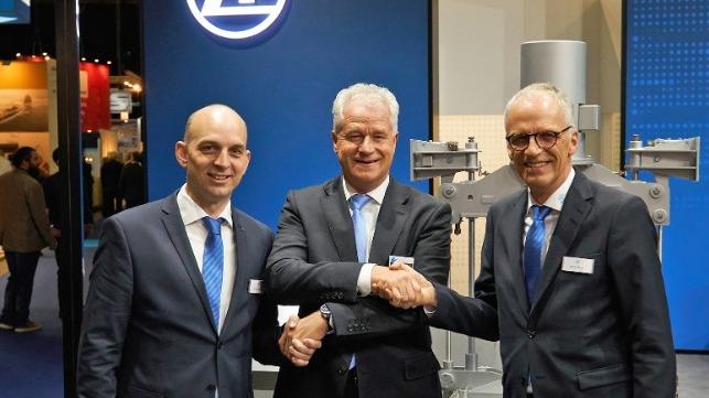 ZF y ADS van STIGT amplían su asociación marina