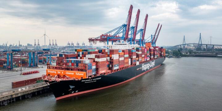 Hapag-Lloyd convierte el primer buque portacontenedores 'grande' en combustible GNL