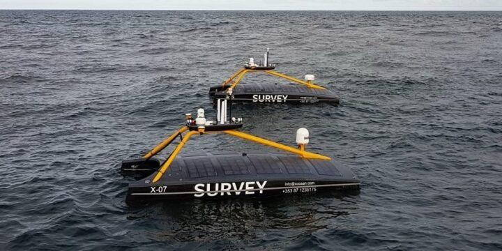 Despliegue en tándem sin tripulación en alta mar en Escocia