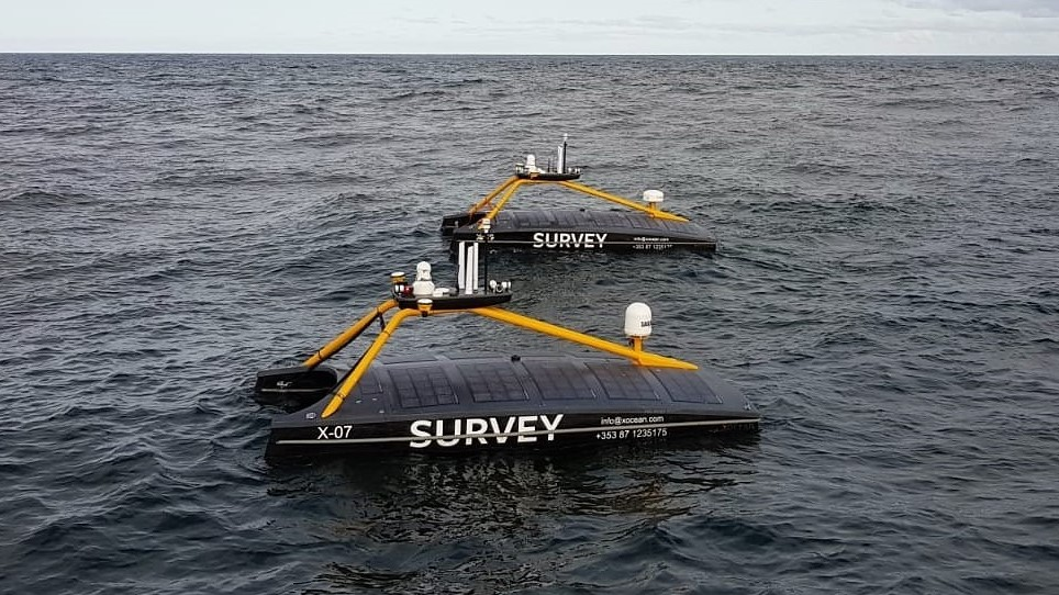 Despliegues en tándem sin tripulación en alta mar en Escocia
