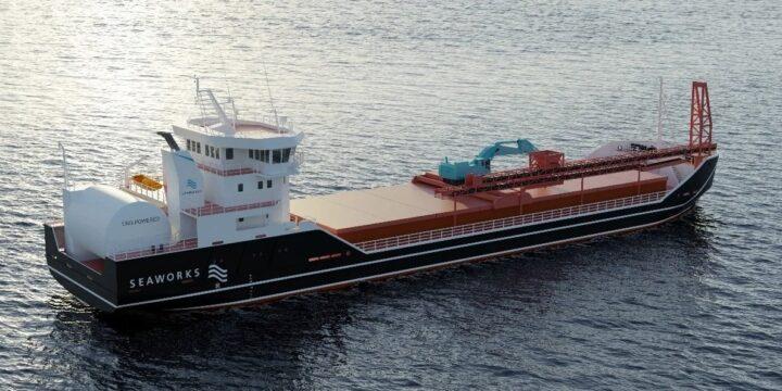 El nuevo granelero de GNL de Seaworks obtiene propulsión Kongsberg