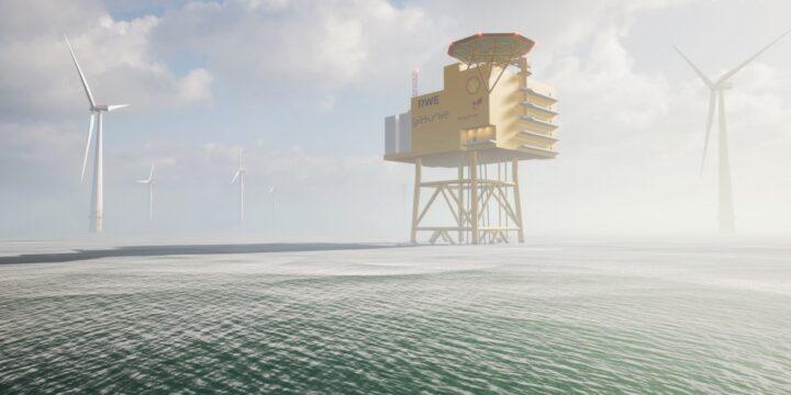 Se intensifican las obras en la planta de hidrógeno en alta mar a gran escala de Alemania