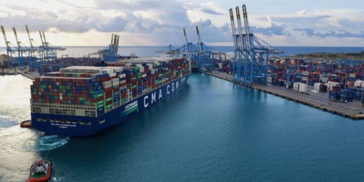 CMA CGM en seis barcos de 7.600 teu en Samsung Heavy