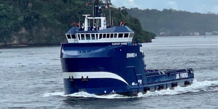 Harvey Gulf convierte el segundo proveedor de la plataforma al estado de tri-combustible
