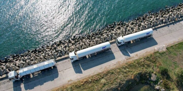 OMV Petrom entrega GNL para alimentar el primer barco operado con GNL de Rumania